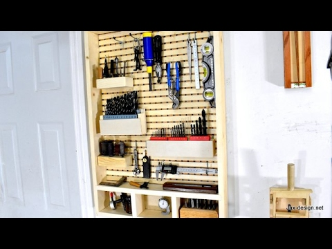 How to Make a Wall Tool Holder