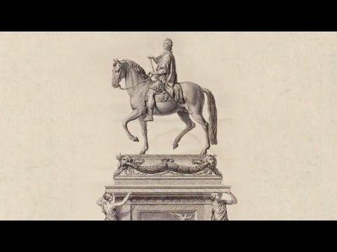 Casting A Monument To Louis XV