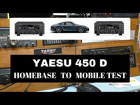 Yaesu 450D to Yaesu 450D mobile test.