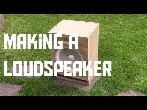 Making a DIY loudspeaker (AKIO TV)