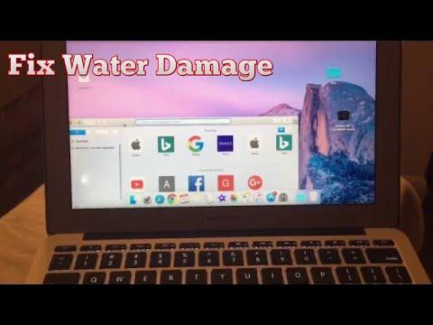 MACBOOK WATER DAMAGE FIX!