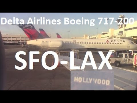 Delta Airlines Flight DL2769 San Francisco-Los Angeles