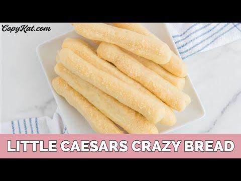 Little Caesars Crazy Bread Copy Cat Recipe