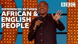 English people... why so rude?   Live At The Apollo - BBC