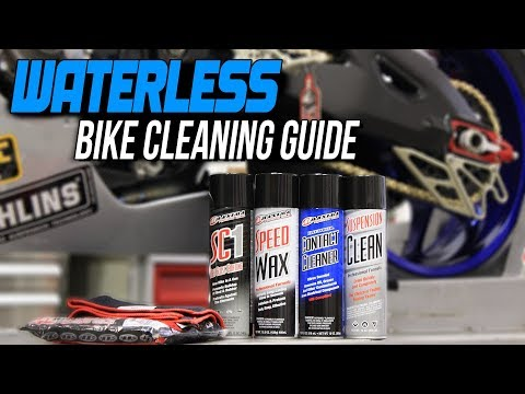 How To Clean A Motorcycle Without Water | Sportbiketrackgear.com
