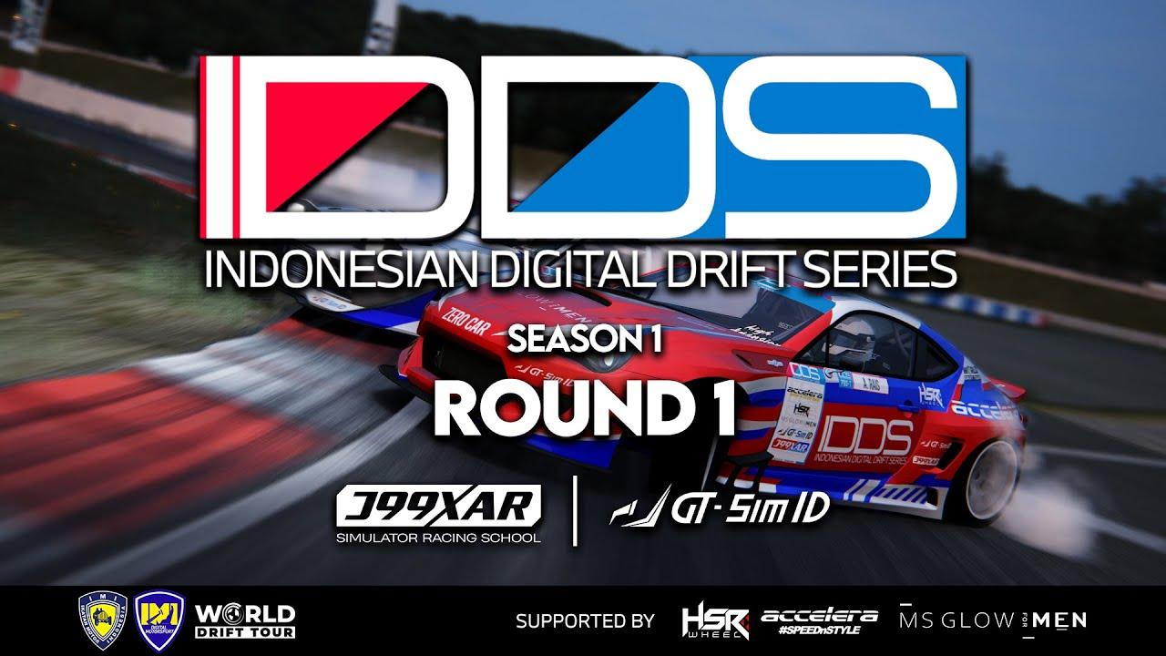 Indonesian Digital Drift Series (IDDS) Round 1 at Okayama, Japan