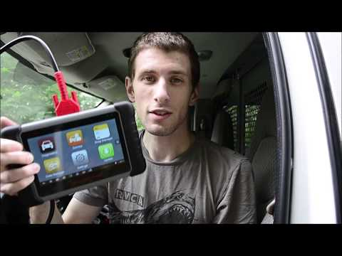 Brake Bleed Function Autel MK808 Scanner - Chevy Van