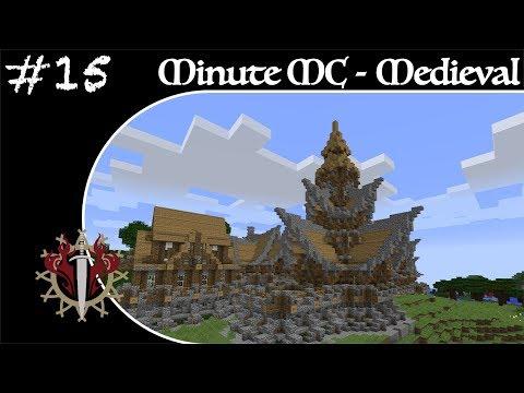 Minute Minecraft - Time Lapse - Medieval Village - Ep.15