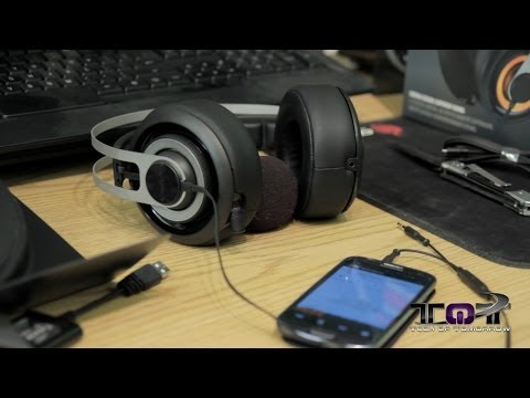 SteelSeries Siberia Elite 7.1 Surround Sound Gaming Headset Unboxing & Demo
