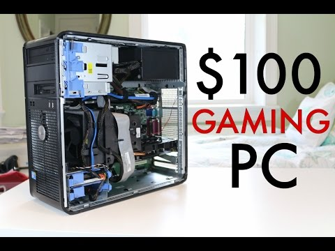 ULTIMATE $100 Gaming PC! (2016)