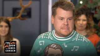 James Corden Hosts His Staff