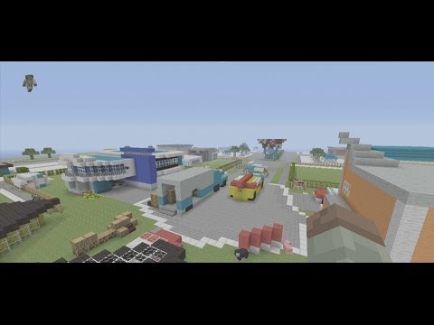 Nuketown In Minecraft: Xbox 360 Edition