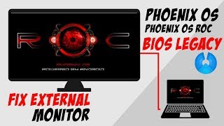 Phoenix OS Official & ROC Glitched , Distorted , Scratched