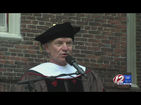 Sting Earns Honorary Degree from Brown U.