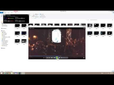 How to increase Video Brightness in Windows Media Player (Preview only)