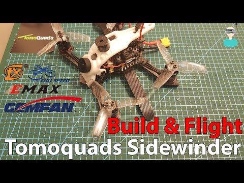 Tomoquads Sidewinder - Build & Flight