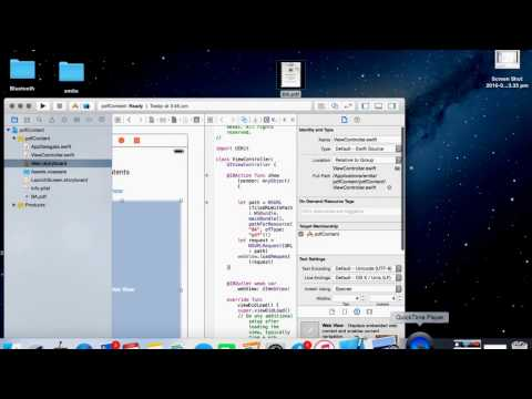Swift:Display Contents of PDF file.
