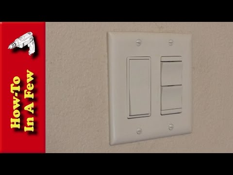 How To: Install Decorative Bathroom Light Switches