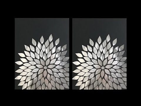 Aluminum Foil DIY Wall Art Decor