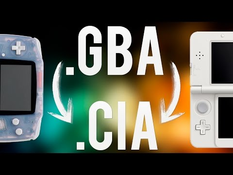 Convertir Juegos .GBA a .CIA [3DS/2DS/NEW]