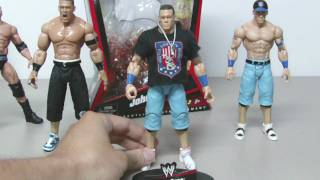 Mattel WWE Elite Collection Series 3 John Cena figure review