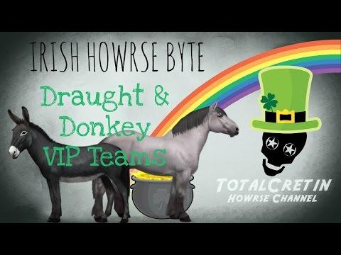 Draught & Donkey VIP Teams (18th January 2017) - Irish Howrse Byte