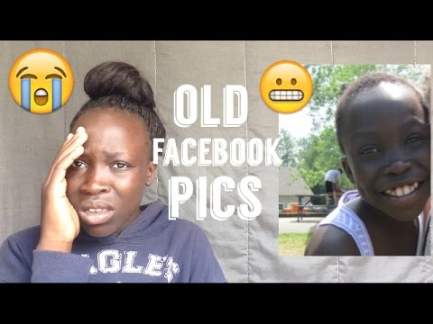 REACTION TO MY OLD FACEBOOK PICTURES!!!