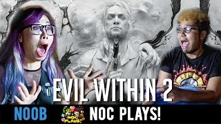 NOC Plays Evil Within 2! (Halloween Special)ft. Joshua Simon