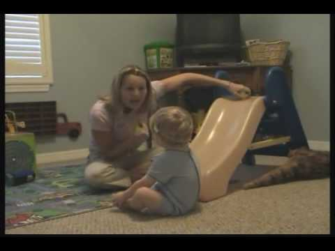 Child with Autism Begins ABA therapy