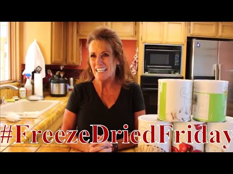 #FreezeDriedFriday With Linda's Pantry