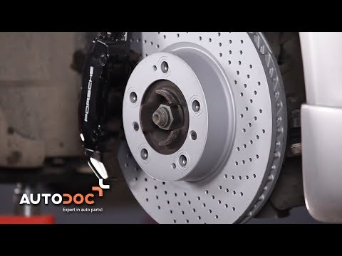 How to replace front brake discs and brake pads PORSCHE 911 CARRERA TUTORIAL | AUTODOC