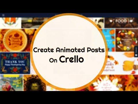 Create Animated Posts On Crello