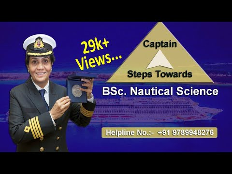 BSc  Nautical Science (Hindi Version) | Merchant Navy | Captain | After 12th