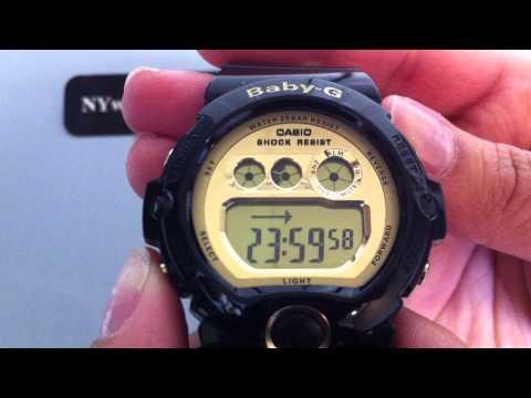 Black Casio Baby-G Large Digital Sports Watch BG6901-1