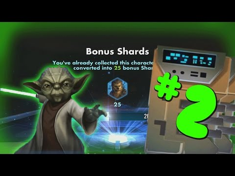 Star Wars Galaxy of heroes 20K Ally Points Opening Part 2