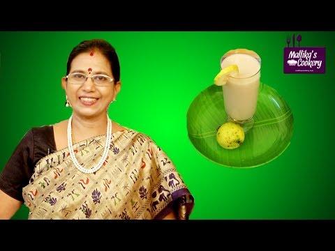 White Gauva Drink | Mallika Badrinath Recipes | Refreshing Summer Drink