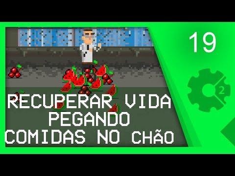 ITENS DE RECUPERAÇÃO DE VIDA - Curso Beat'em Up / Brawler Aula 19 [CONSTRUCT 2]