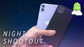 Pixel 4 vs. iPhone 11 Low Light Fight: Return of the Night King