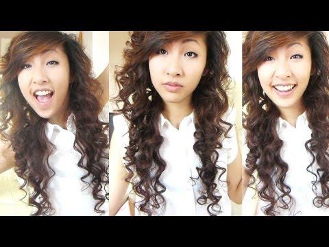Heatless Curls - Overnight (Bendy Rollers/ Flexi Rods) 2 | Emily Liu