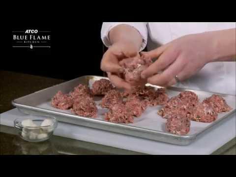 How To Make Bocconcini Stuffed Meatballs