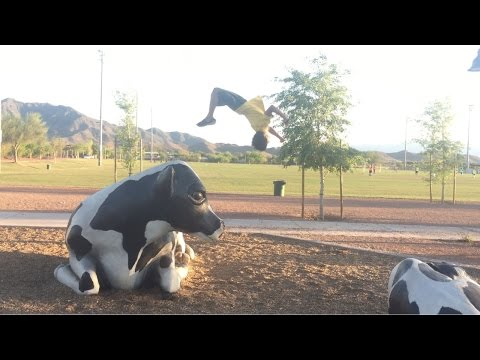 Parkour Tutorial: How To Backflip Off A High Wall
