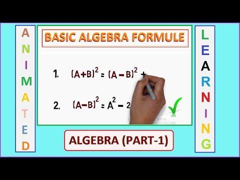 Basic Algebra Formulas   Part 1   (Maths Formulas)   SSC MATHS   Shortcut World   Online CSK