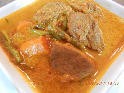 Beef Red Curry Recipe VERY Delicious!