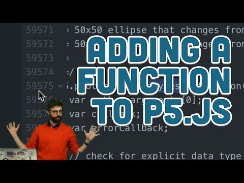 Adding a Function to p5.js