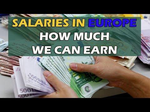 Salaries In Europe