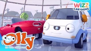 Olly the Little White Van | Dancing on Ice | Wizz Cartoons