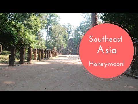 Siem Reap Cambodia & Hanoi Vietnam - Honeymoon Vlog