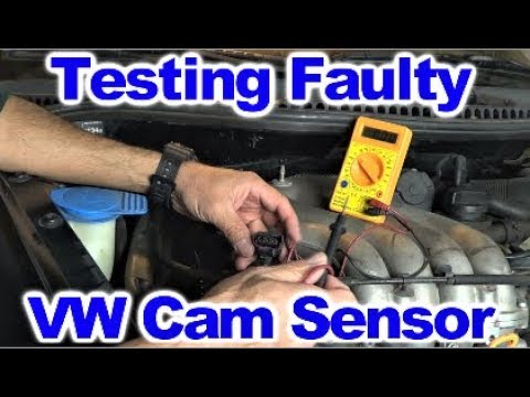 Diagnosing Bad Cam Sensor on VW 2.0 L Engine