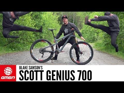 Blake Samson's Scott Genius 700 | GMBN Pro Bikes