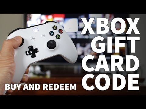 How to Get an Xbox Gift Card Code Online Right Now and Redeem Code on Xbox One Console